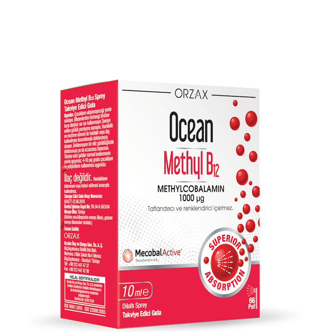 Ocean methyl 1000 mg 10 ml