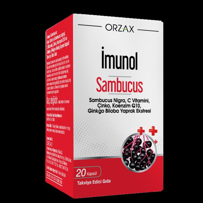 imunol sambucus kapsül