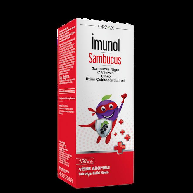 imunol sambucus şurup