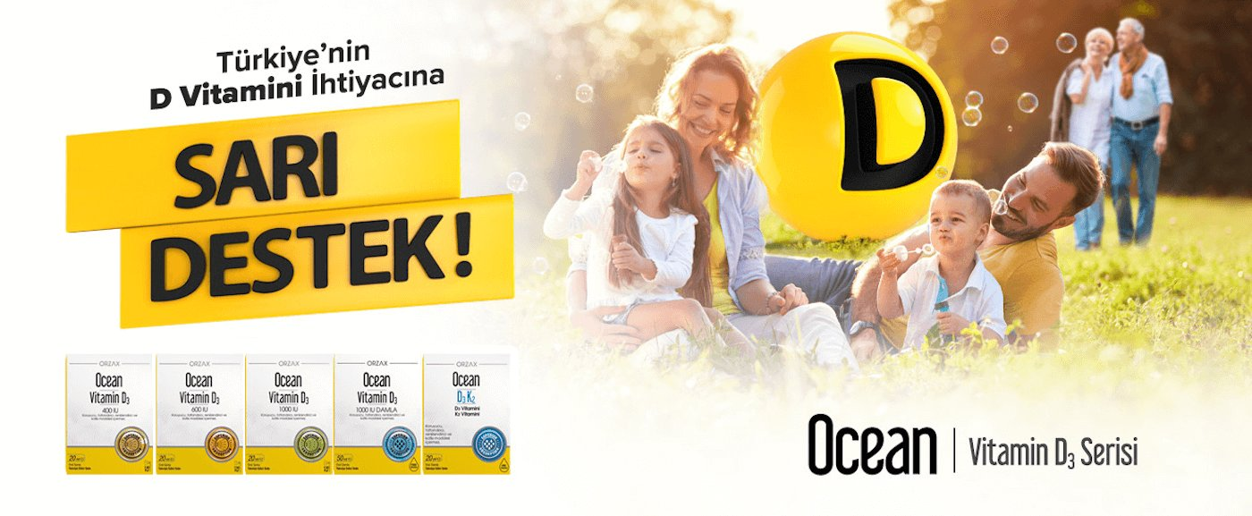 Ocean Vitamin D3 Serisi